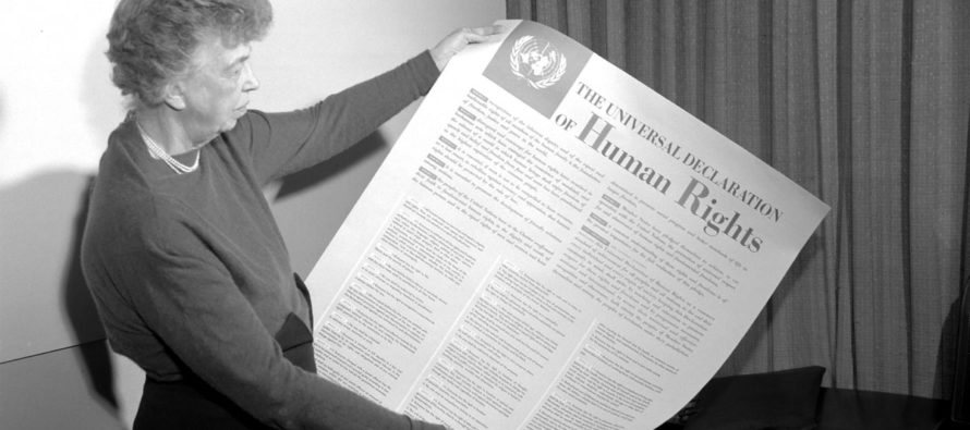 THE DECLARATION OF HUMAN RIGHTS