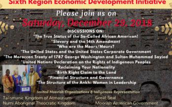 African 6th Region Economic Development Initiative [Dec 29th]
